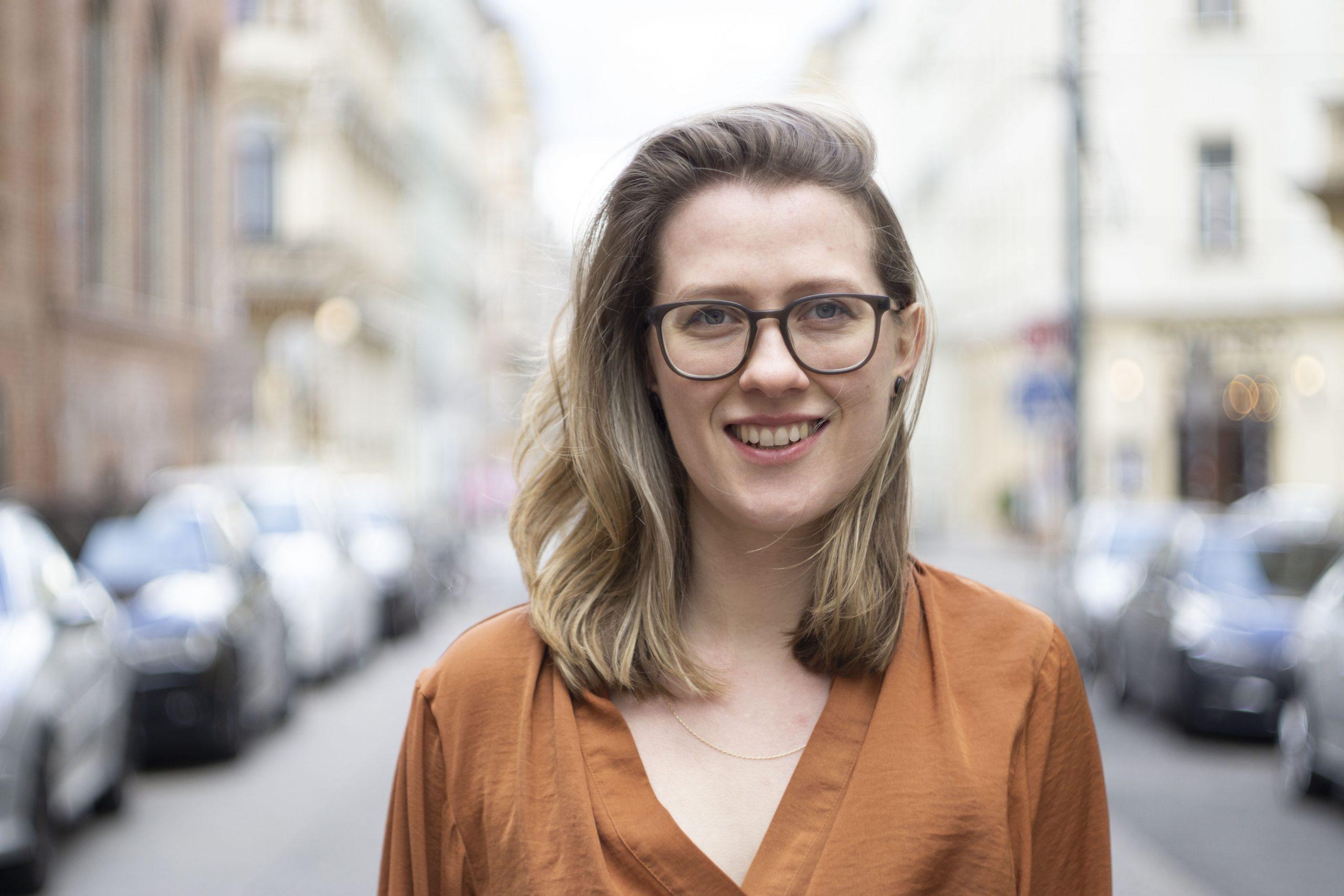 Livia Teubersen von Livt in der Wiener Innenstadt